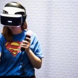 Der er flere spillere på markedet for Virtual Reality-briller, herunder Oculus Rift, HTCs Vive, ligesom Playstation har deres egen model (ARKIVFOTO: Ólafur Steinar Gestsson/Ritzau Scanpix).