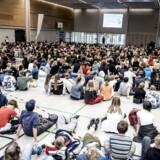 Arkivfoto fra Skolen på Islands Brygge i København. Regeringen vil indføre en ny slags folkeskole, som skal befinde sig et sted mellem privatskolen og den offentlige folkeskole.