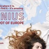 Litauens officielle turismekampagne for Vilnius. Foto: PR