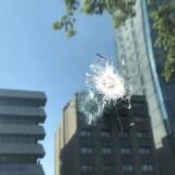 Den amerikanske ambassade i Ankara blev mandag morgen ramt af skud.
