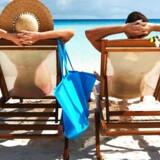 Det er at holde ferie mindst tre uger om året, viser nyt studie, foretaget blandt mænd. Foto: Iris