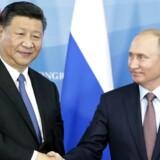 Lederne af de to lande, den russiske præsident, Vladimir Putin, og Kinas leder, Xi Jinping, er tirsdag blevet enige om, at de to lande har grund til at rykke tættere sammen.