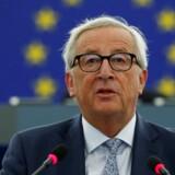 Jean-Claude Juncker holdt onsdag sin sidste »state of the union«-tale i Europa-Parlamentet i Strasbourg. Han foreslog bl.a. en markant styrkelse af EUs fælles grænsekontrol.