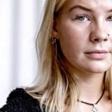 Anja Leighton er stået frem for at undsige den kultur af mobning og seksuelle krænkelser, som hun oplevede på Rungsted Gymnasium. Hun forlod det nordsjællandske gymnasium og går i dag på Det Frie Gymnasium i København, hvor hun ikke har oplevet lignende former for gruppepres og krænkelser. Foto: Ritzau / Scanpix / Bax Lindhardt