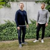 Kristian Anker (tv) og Oscar Almstrup (th) etablerede for to år siden teknologivirksomheden LegalHero. De to unge jurister vil udfordre advokatbranchen med online-salg af juridisk rådgivning til små og mellemstore virksomheder.