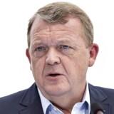 Venstres formand, statsminister Lars Løkke Rasmussen.