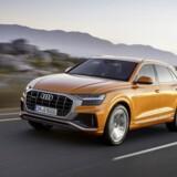Audi-forhandlerne kan nu byde velkommen til en ny SUV-topmodel, Q8