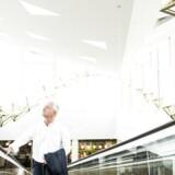 Mr. Rødovre Centrum, Jesper Andreasen i centeret, som blev startet af hans farfar. Nu skal Danmarks største indkøbscenter dog sælges.