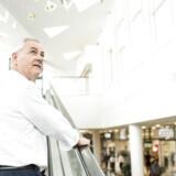 Jesper Andreasen, adm. direktør Rødovre Centrum, som blev bygget af hans morfar: »Det er vemodigt, men vi tror, det er den rigtige beslutning at sælge det hele ud af familien.«