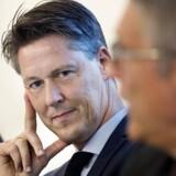 Overvismand Michael Svarer har regnet på, hvordan man kunne give danskere flere år som pensionister. Foto: Ritzau / Scanpix / Liselotte Sabroe