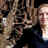 Psykolog og abeforsker Jill Byrnit fotograferet i København Zoo.