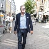 Henrik Settrup, formand for gågadelauget og ejer af tøjbutikken Mr Monopol.