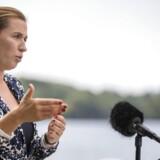 Glem det, var beskeden fra formand Mette Frederiksen til de radikale krav om en skriftlig aftale før et valg, da hun onsdag mødte pressen ved Socialdemokratiets sommergruppemøde i Kolding
