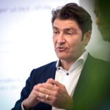 André Rogaczewski, CEO hos Netcompany og en af tre stiftere af IT-selskabet. Tirsdag morgen skulle han for første gang præsentere et regnskab for investorerne.