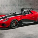 Lotus seneste model er endnu en evolution af en evolution af den gamle Elise - her i en 340 hk ekstrem racerudgave. Foto: PR