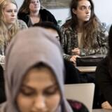 På Herlev Gymnasium har cirka en tredjedel af eleverne indvandrerbaggrund.