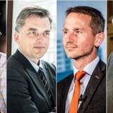 Hvis Dansk Folkeparti og Venstre sammen skal forhandle om et regeringsgrundlag efter et valg, er flere V-politikere afvisende over for DFs ønske om en folkeafstemning om Danmarks EU-medlemskab.