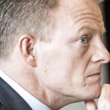 Anders Götzsche afleverer et Lundbeck i god form til medicinalfirmaets nye, permanente topchef, Deborah Dunsire, der begynder 1. september. (Foto: Søren Bidstrup/Scanpix)