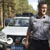 I området omkring Ljusdal i Sverige, er store dele hærget af mange ukontrollerede skovbrande.De har modtaget assistance fra flere EU lande, blandt andet Danmark. Her ses en af sektionslederne for det danske hold, Michael W. Rasmussen.
