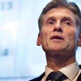 Danske Banks topchef Thomas F. Borgen er genstand for nye belastende oplysninger i hvidvasksagen. (Foto: Nils Meilvang/Scanpix 2015)
