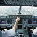 Danske piloter tjente ifølge Danmarks Statistik lige knap 100.000 kr. i gennemsnit i løbet af 2017.