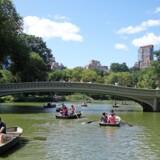 En rotur på The Lake har været populær blandt turister og newyorkere gennem alle tider. Fotos: Elsebeth Mouritzen