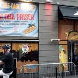 LA Bar i København, hvor episoden mellem justitsminister Søren Papes forlovede, Josue Vasquez, og den 34-årige slovak fandt sted.