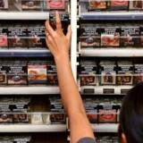 Australien har fået opbakning af Verdenshandelsorganisationen WTO til, at man kun må sælge cigaretter i neutrale pakker. (Arkivfoto)