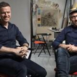 Kasper Eistrup har hentet inspiration fra sit eget virke som kunstner til designet af den nye Sibast Sunrise No 8. Foto: PR