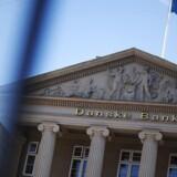 (ARKIV) Danske Bank den 18. juni 2013.Danske Banks hvidvasksag kan skade hele den danske finanssektor, lyder det fra erhvervsminister Rasmus Jarlov (K). Det skriver Ritzau, fredag den 7. september 2018.. (Foto: Kasper Palsnov/Ritzau Scanpix)