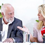 Partiet Nye Borgerlige, som vil i Folketinget ved næste valg, holdt for nylig sommergruppemøde på Hotel Klinten i Rødvig på Stevns. Her ses partiets spidskandidat i Nordjylland, Poul Højlund, og partiformand Pernille Vermund.