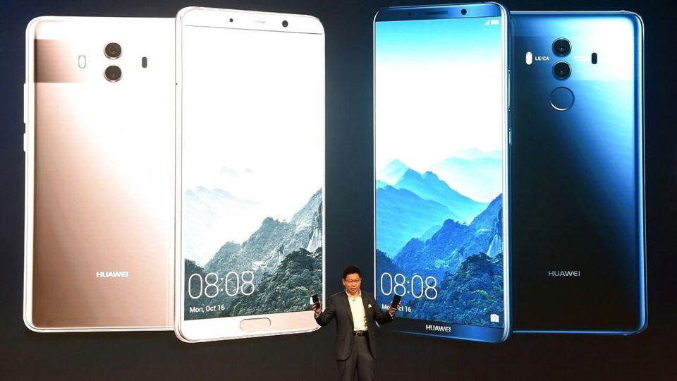 Lækker Endnu en telegigant dropper Huawei-telefoner af spionfrygt PY-57