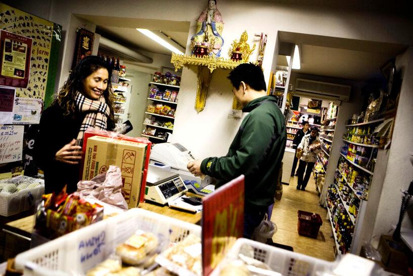 Asiatisk butik sex