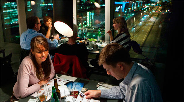 Madanmeldelse af Sticks'n'Sushi Sky Bar (Hotel Tivoli) fra berlingske.dk