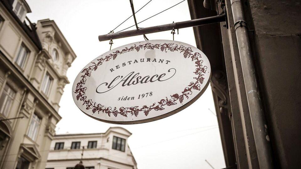 Madanmeldelse af Restaurant l'Alsace fra berlingske.dk