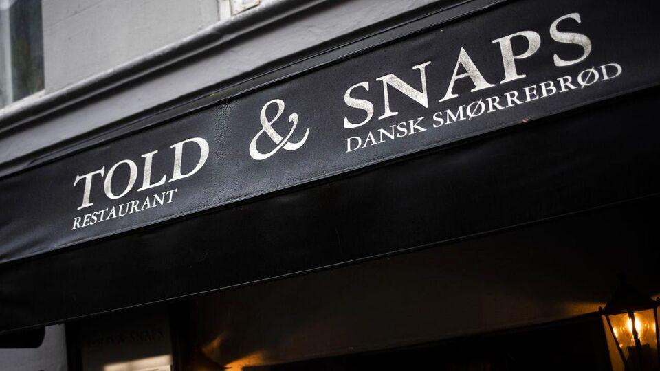 Madanmeldelse af Told & Snaps fra berlingske.dk