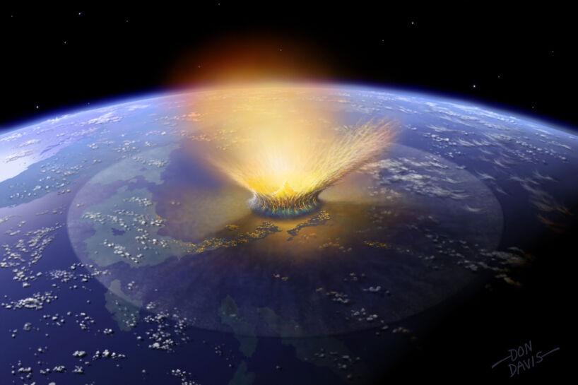 Dinosaurdræberen ramte Jorden fra den værst tænkelige vinkel