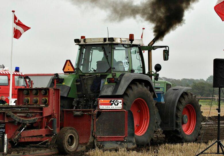 Hundredvis af traktorer vil køre gennem indre by...