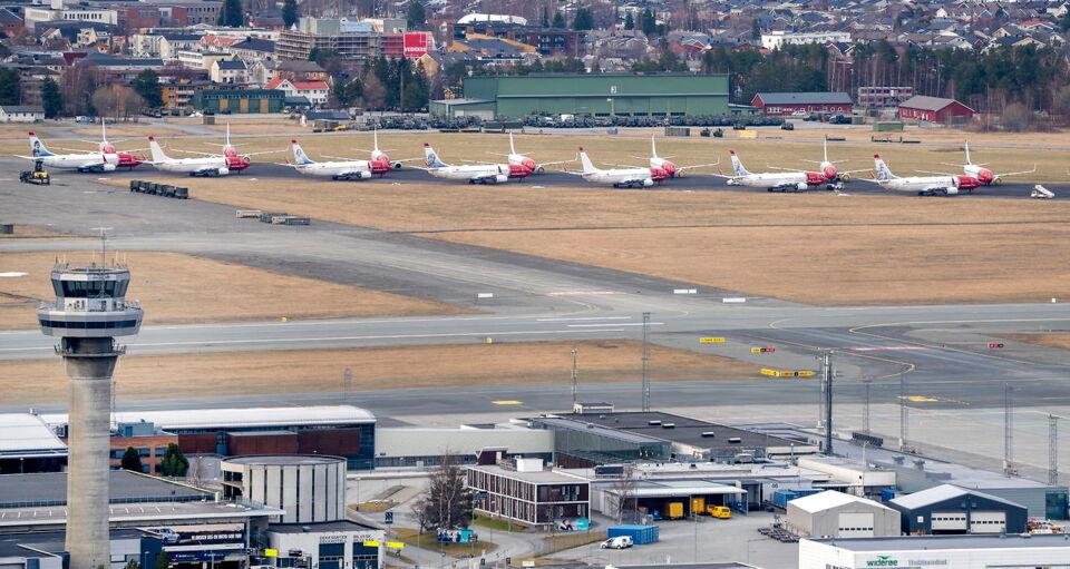 Enormt fald i antallet af flypassagerer  3.000...