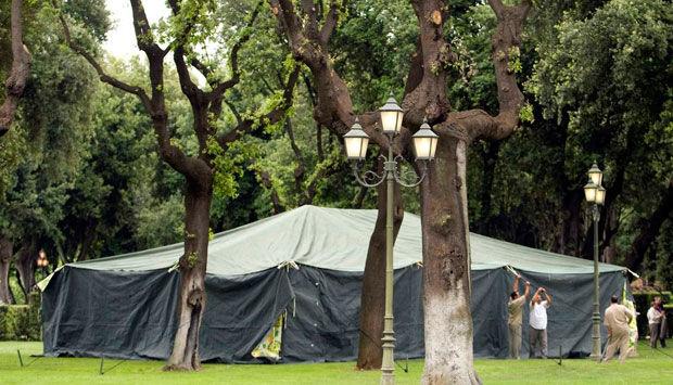 hvor må man slå telt op