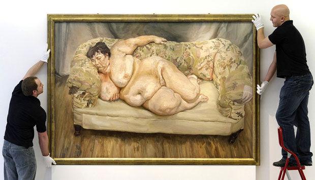 kunst klasse nøgen modellersort mand med en stor pik