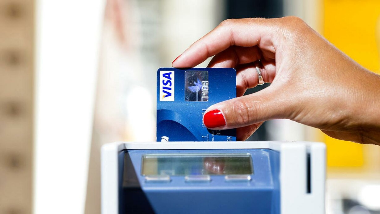 spærring af visa dankort