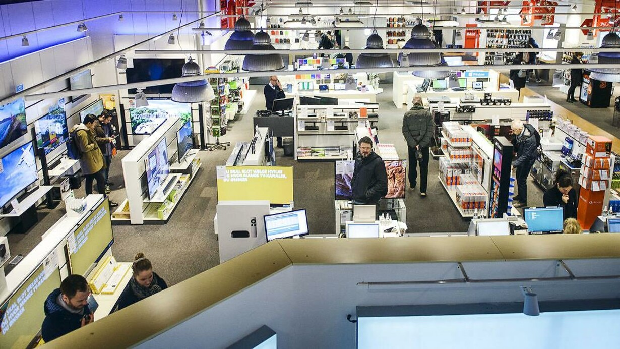 køb og salg af elektronik