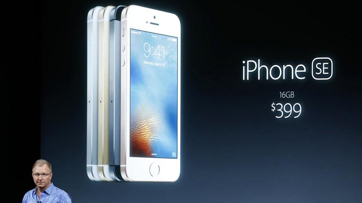 1c8da3b5c52 Apple lancerer billigste nye iPhone nogensinde
