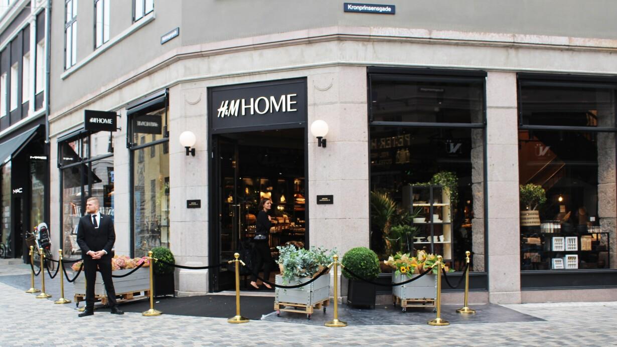 Welcome Home Hm Slår Dørene Op For Deres Første Hm Home Butik I