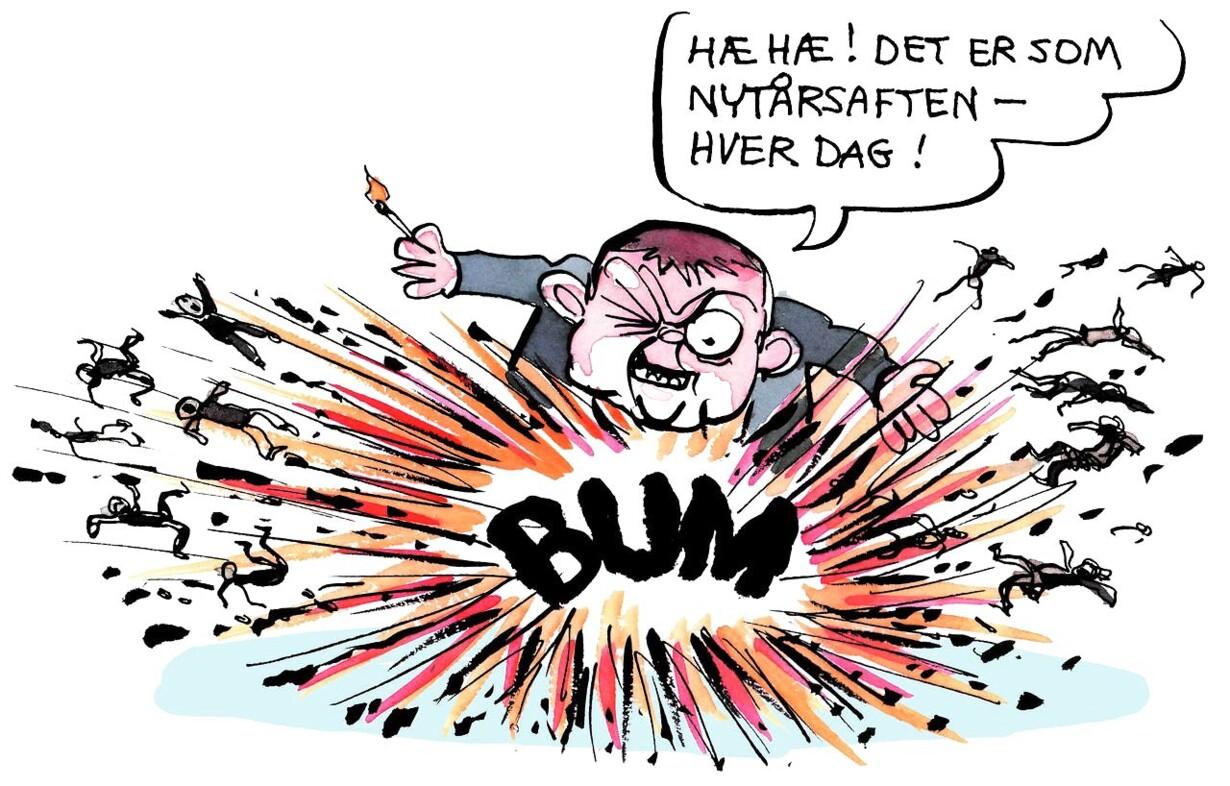 Her Er 2018 Set Fra Satiretegnerens Blok