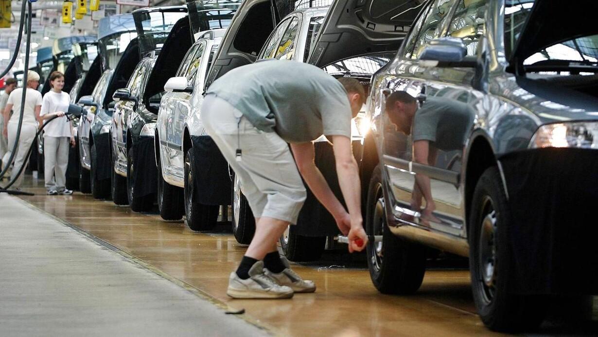 1f51160d003f4 Flytter VW Skoda-produktion væk fra Tjekkiet