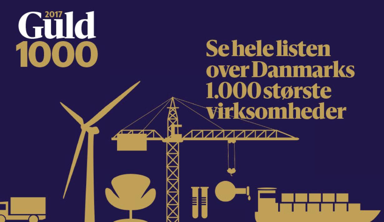 top 100 virksomheder i danmark