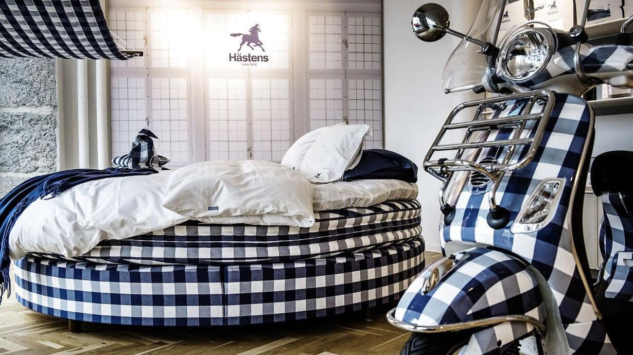senge butik Hästens i kamp mod Magasin og Drømmeland om berømt mønster senge butik