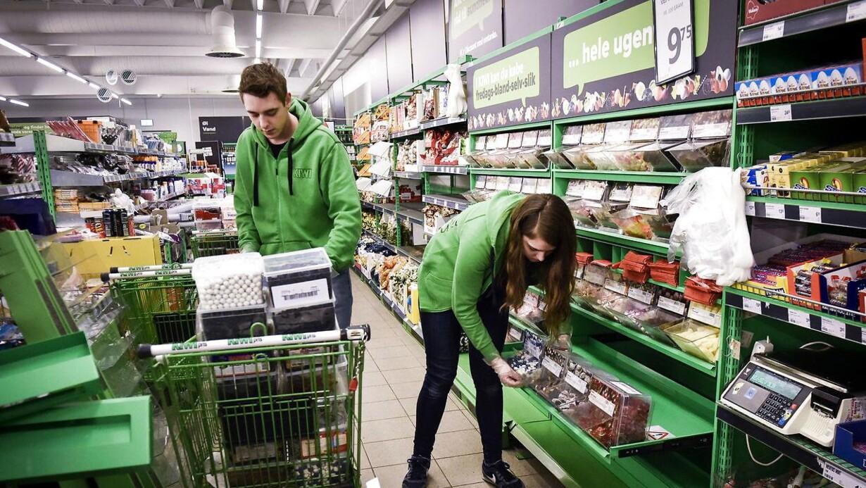 supermarked åben i dag